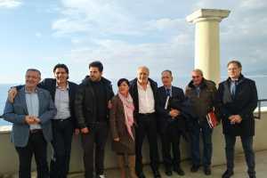 vincitori con i dirigeniti di Cia Campania
