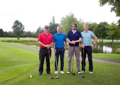 John Hill, Craig Harding, David Jones, Robert McCormac (Daveys)