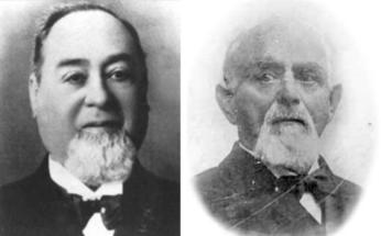 Levi Strauss y Jacob Davis.
