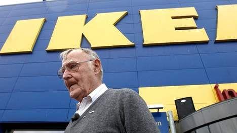 El fundador de IKEA Ingvar kamprad