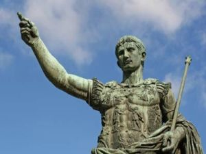 Octavio, el futuro César Augusto.