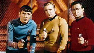Spock, Kirk y Scotty
