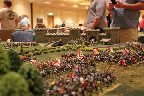 Cigar Box Battle 28mm War Of The Roses Tactica Game At