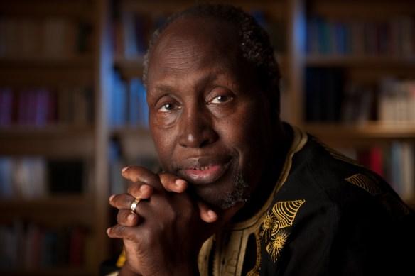 Kenyan author Ngugi wa ThiongÕo, Distinguished Professor of English and comparative literature at UC Irvine