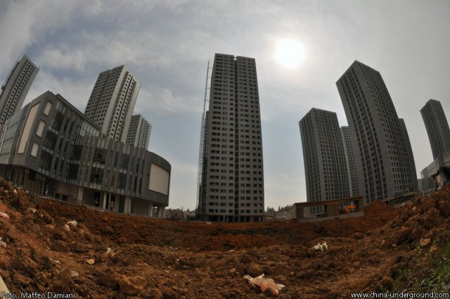 Chinese ghost town