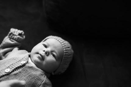 Newborn Sydney Photography_ baby with blue hat