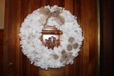 Rag Wreath