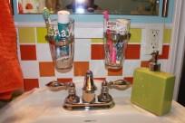 mason jar toothbrush holder