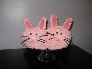 "Sleepover ""Bunny Slippers"" Cake"