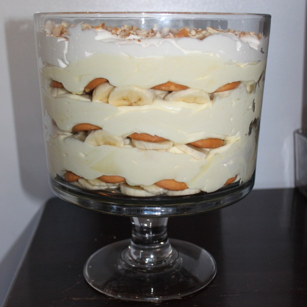 Easy Banana Pudding Trifle