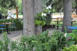 Siesta Cafe patio