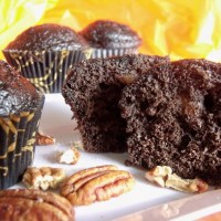 Chocolate Pecan Muffins #ChocolateParty