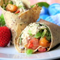 Tuna Bacon Salsa Wrap #SundaySupper