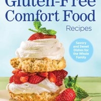 Ginger Snaps Recipe -Gluten-Free Comfort Food Cookbook #Giveaway