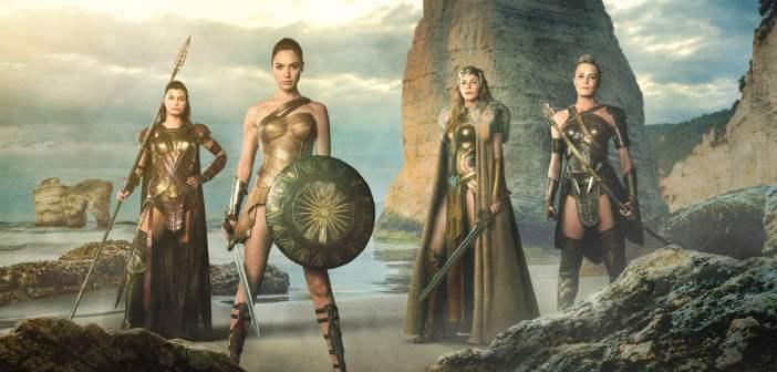 Imponente primer póster de Wonder Woman