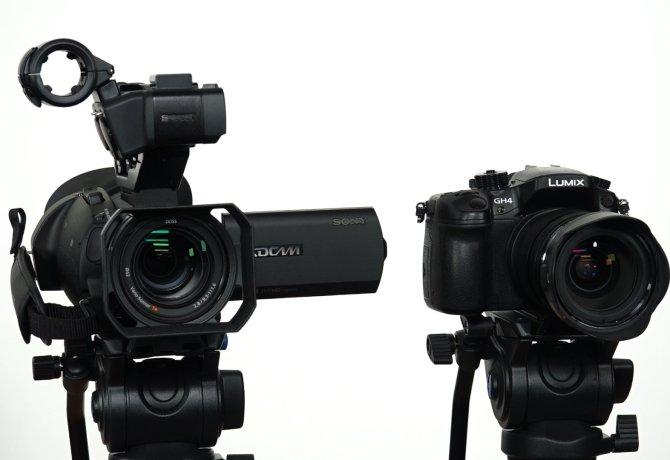 ¿Sony PXW-X70 o Lumix GH4?