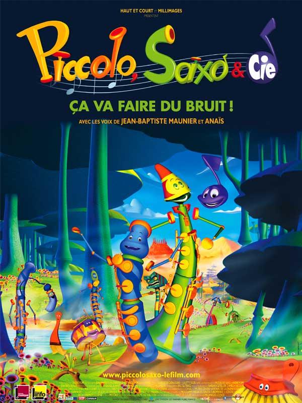 Poster do filme Piccolo, Saxo et Compagnie