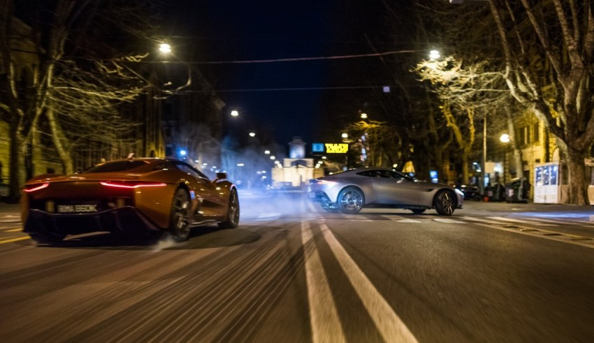 "Car chase in Sony Pictures' ""Spectre"""