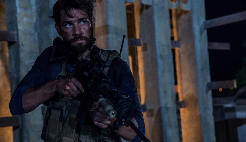 "John Krasinski stars in Paramount's ""13 Hours: The Secret Soldiers of Benghazi"""