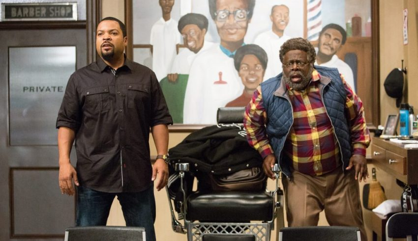 Ice Cube and Cedric the Entertainer star in BARBERSHOP: THE NEXT CUT