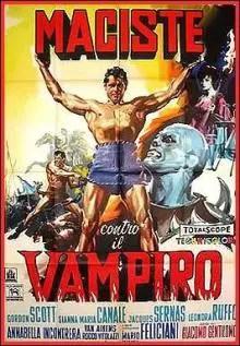 Poster do filme Maciste Contra o Vampiro