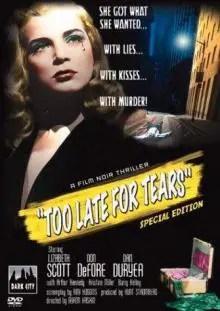 Poster do filme Lágrimas Tardias