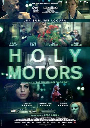 Póster de Holy Motors.