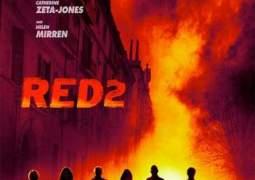 "Póster de ""Red 2""."