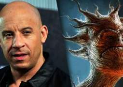 Vin Diesel Groot en Guardianes de la Galaxia.