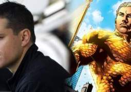 Matt Damon será Aquaman