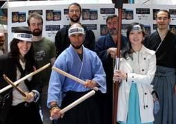 La leyenda del samurái – 47 Ronin se presentó en Madrid con una exhibición al estilo samurái