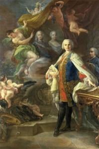 Carlo Broschi detto Farinelli  ritratto da Corrado Giaquinto, Museo Internazionale della Musica di Bologna