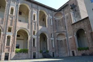Piacenza, Palazzo Farnese, cortile interno