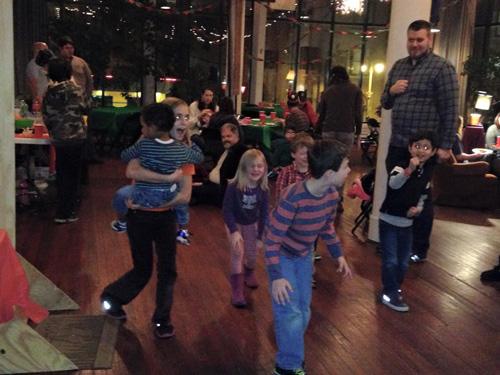 Kids playing at Circle of Hope South Broad