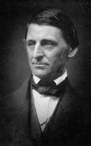 Ralph Waldo Emerson, portrait, transcendentalist