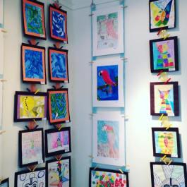 Students art at Circle of Hope gallery