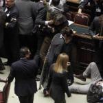 Il Parlamento nel caos