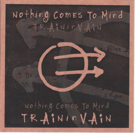 Nothing Comes to Mind, train in vain, circuit breaker records