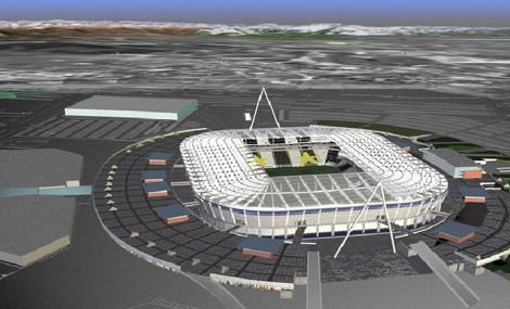 Il cuore eco della Juventus, il nuovo stadio è green