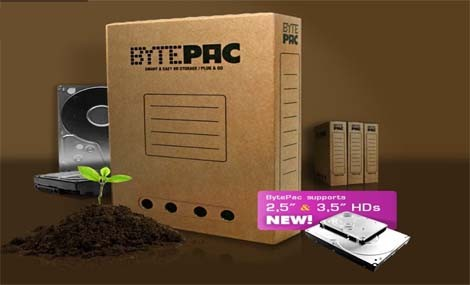 BytePack, l'alternativa ecologica agli hard disk esterni!