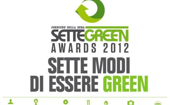 Sette Green Awards: il premio per i più sostenibili.
