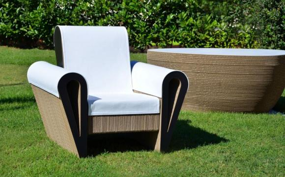 L'eco design Made in Italy apre le porte alle sedie in cartone