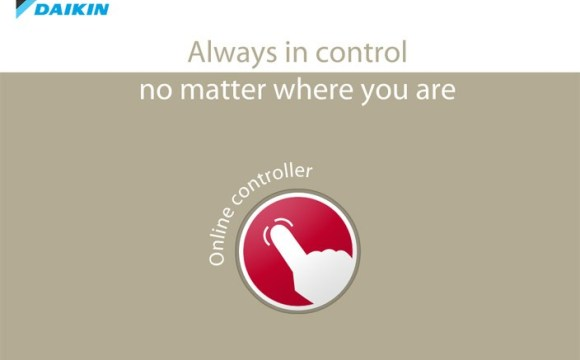 Daikin lancia l'Online controller