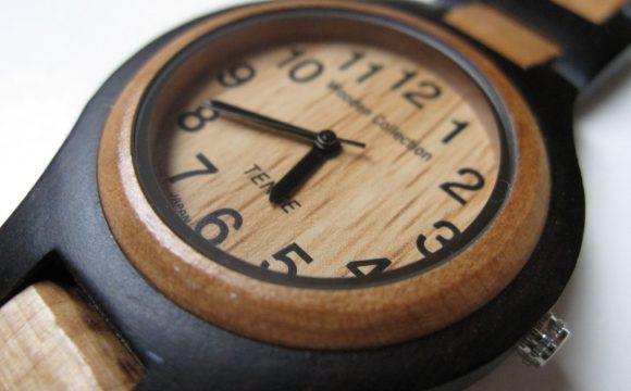 Dubbi sugli ultimi regali? Scegliete l'orologio in legno!