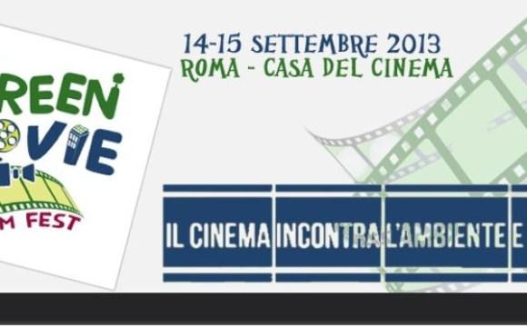 Roma si prepara al Green Movie Film Fest