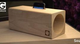 Regali di Natale: LOG, amplificatore per smartphone in legno