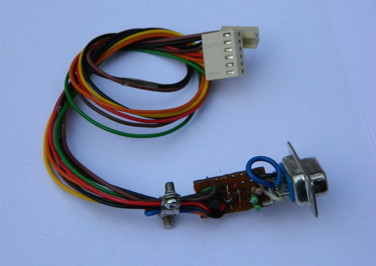 ISP burner cable