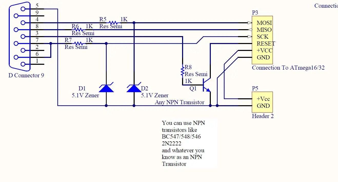 July 2015 Education Technology Make Programmable Line Follower Robot Based Microcontroller Atmega8535 Image Circuit Diagram Of The Isp Burner