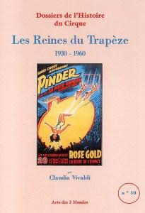 couverture du livre : Les Reines du Trapèze par Claudia Vivaldi