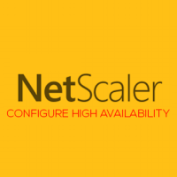 Lab: Part 6 – Configure NetScaler 11 High Availability (HA Pair)